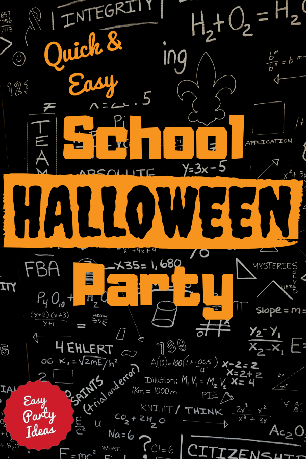 School Halloween Party Ideas