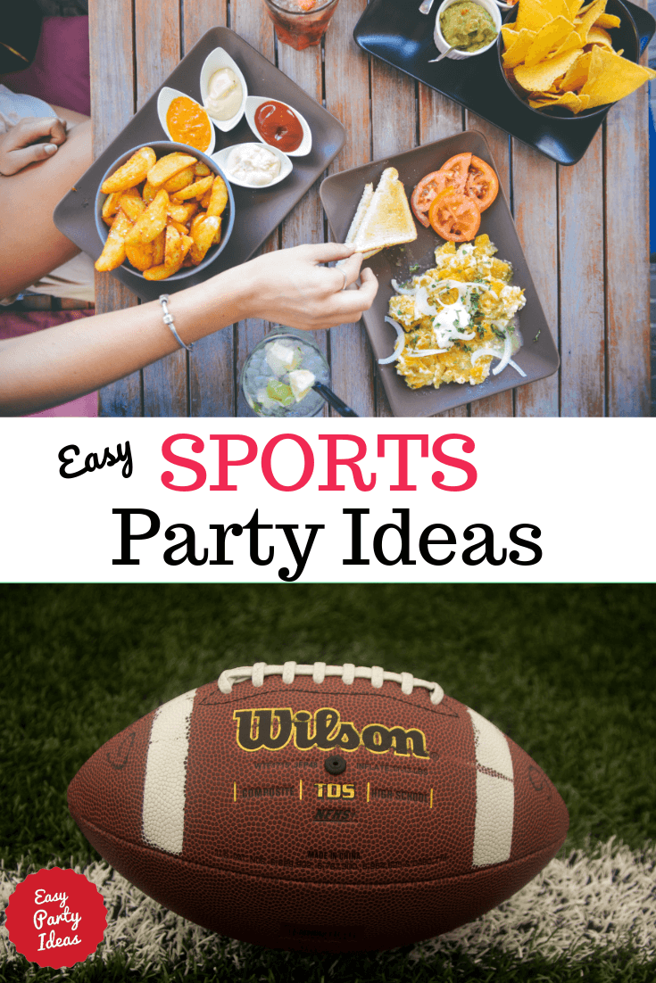 Sports Party theme ideas, decorations and games for your ultimate sports fan.
