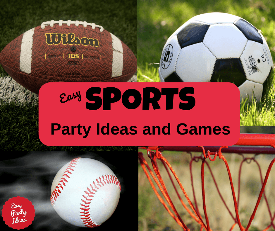 Sports Party theme ideas