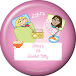 Slumber Party Supplies Magnet