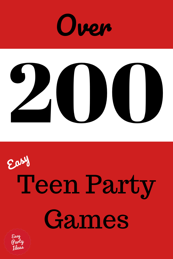 Teen Party Games