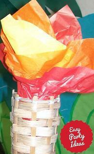Flameless Tiki Torch Decoration
