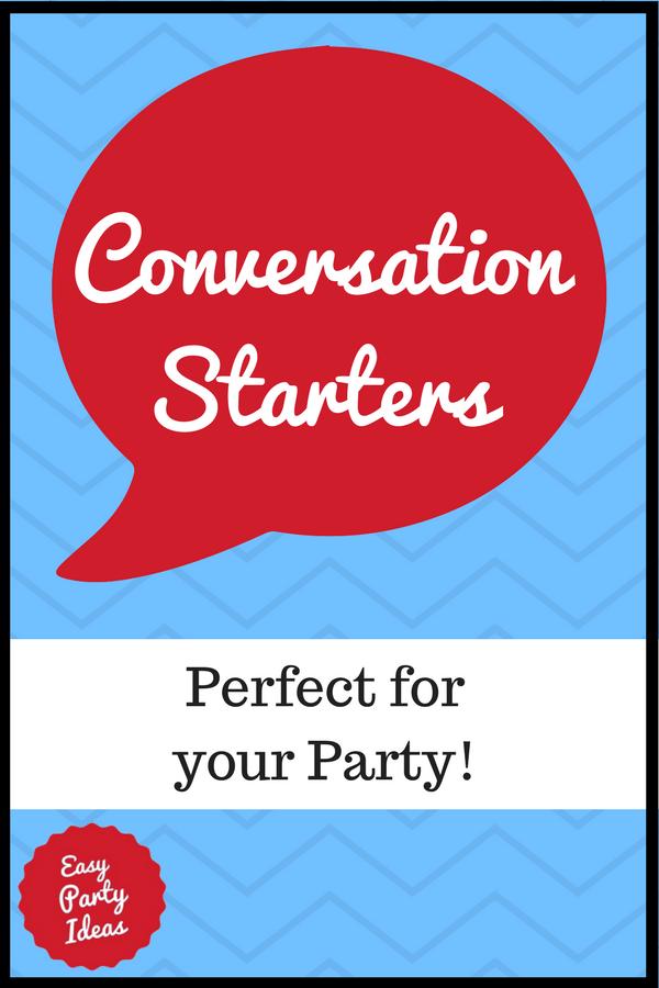 Conversation Starters Pin