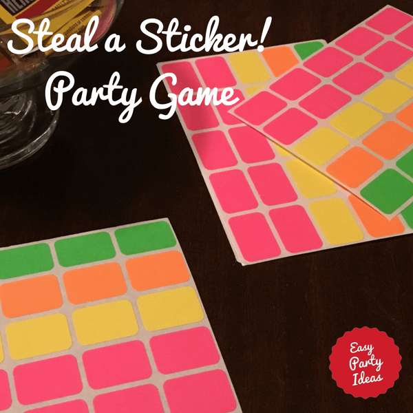 Steal a Sticker Party Game