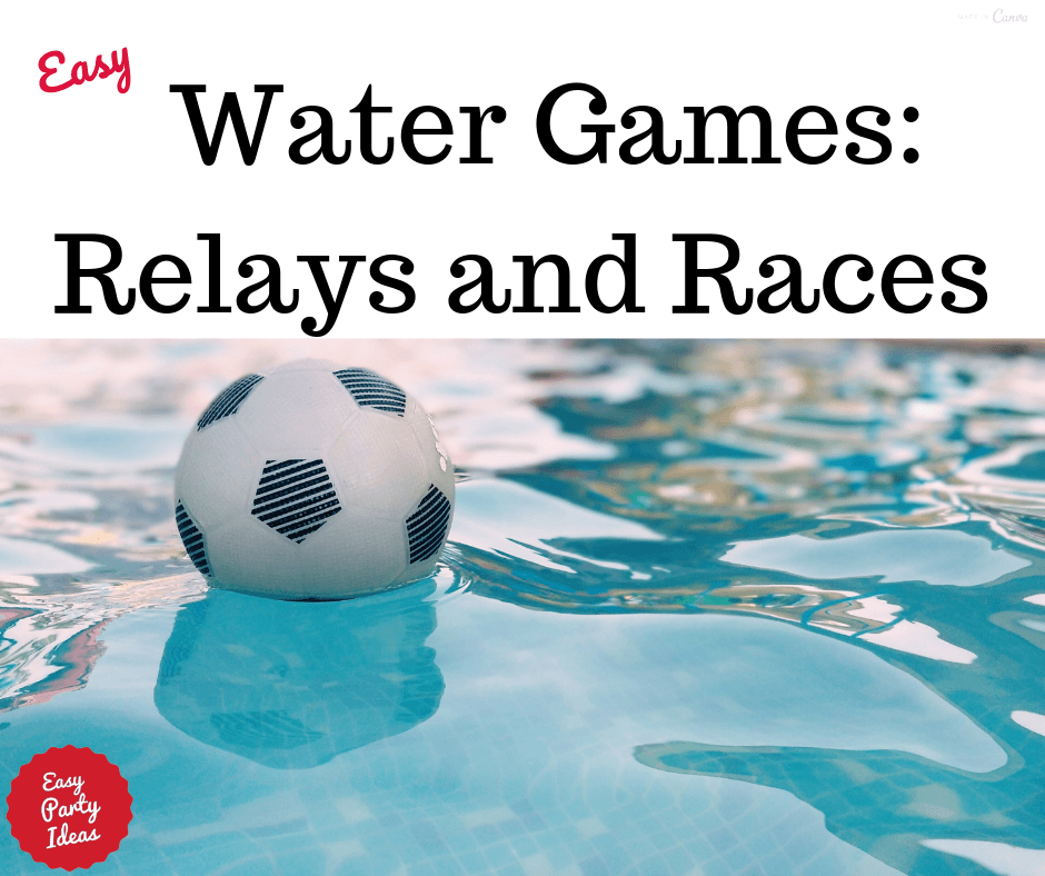 Water Relay Race Games