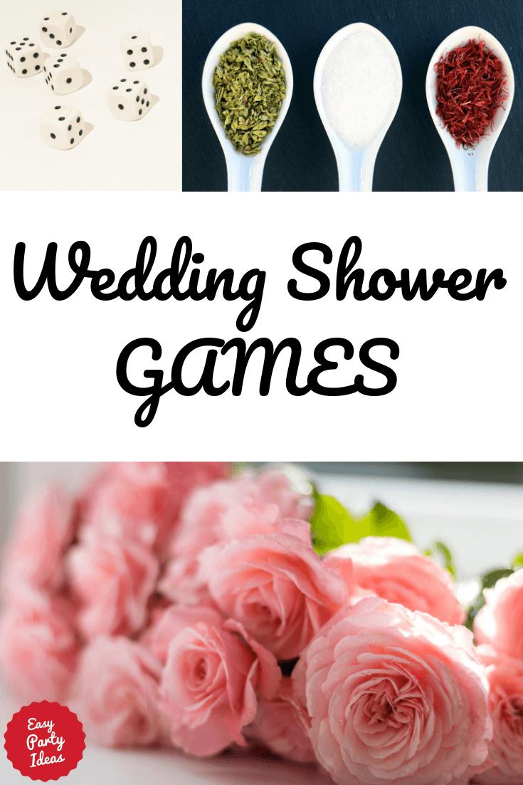 Fun Wedding Shower Games