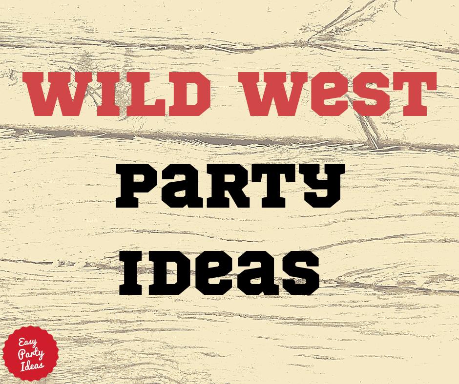 Wild Western Party