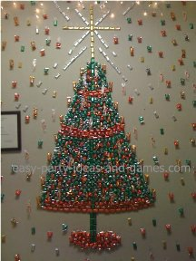 candy christmas tree - Office Christmas Party Decorations