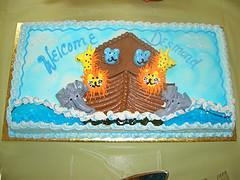 Noahs Ark Cake Topper