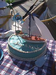 Easy Boat Cake