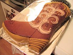 Western Boot Shaped Cake Pan