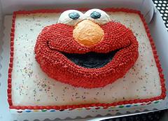 Astounding Elmo Birthday Cake Funny Birthday Cards Online Bapapcheapnameinfo