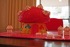 Toadstool Cake Decorations