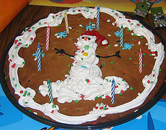 Christmas Cake With Pineapple Crush