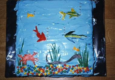 Ocean Cake Ideas and Images