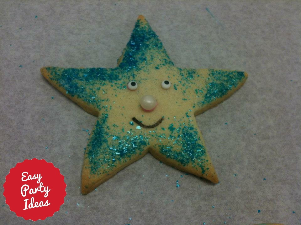 Star Shaped Cookie