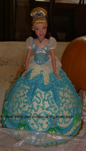 Barbie Dress Cake How To Make