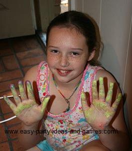 messy craft