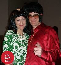 Elvis and Priscilla Costumes