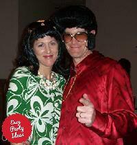 Elvis and Priscilla Costumes