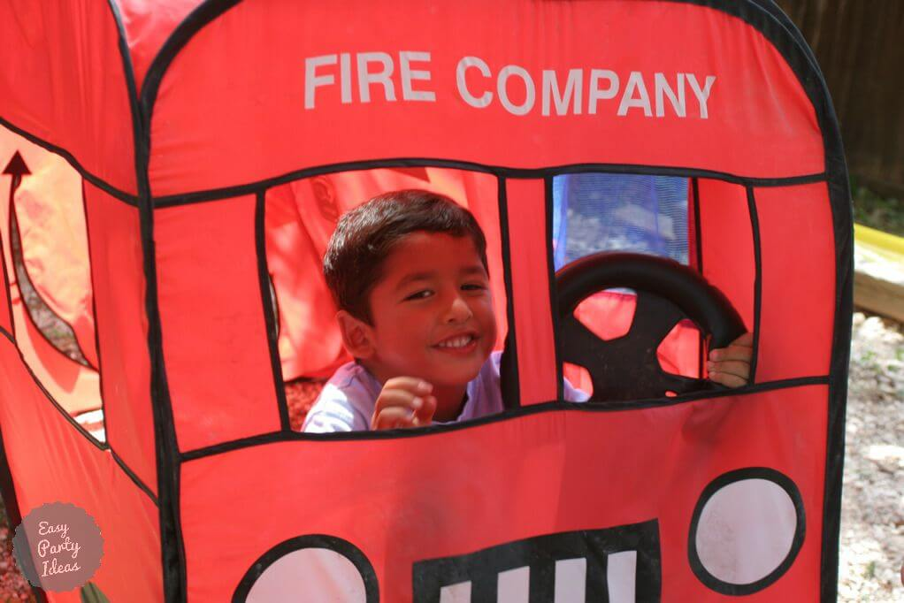 Adapt Superhero Party Ideas for a Fireman Party (a real life superhero!)