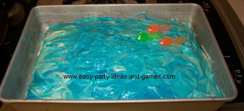 Ocean Cake Decorations