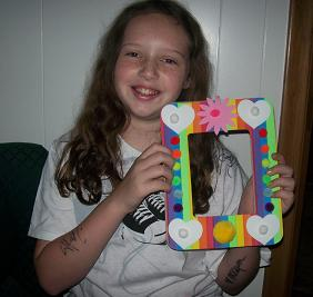 Kid with Party Favor Craft