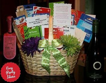 Beautiful gift baskets gift card basket negle Gallery