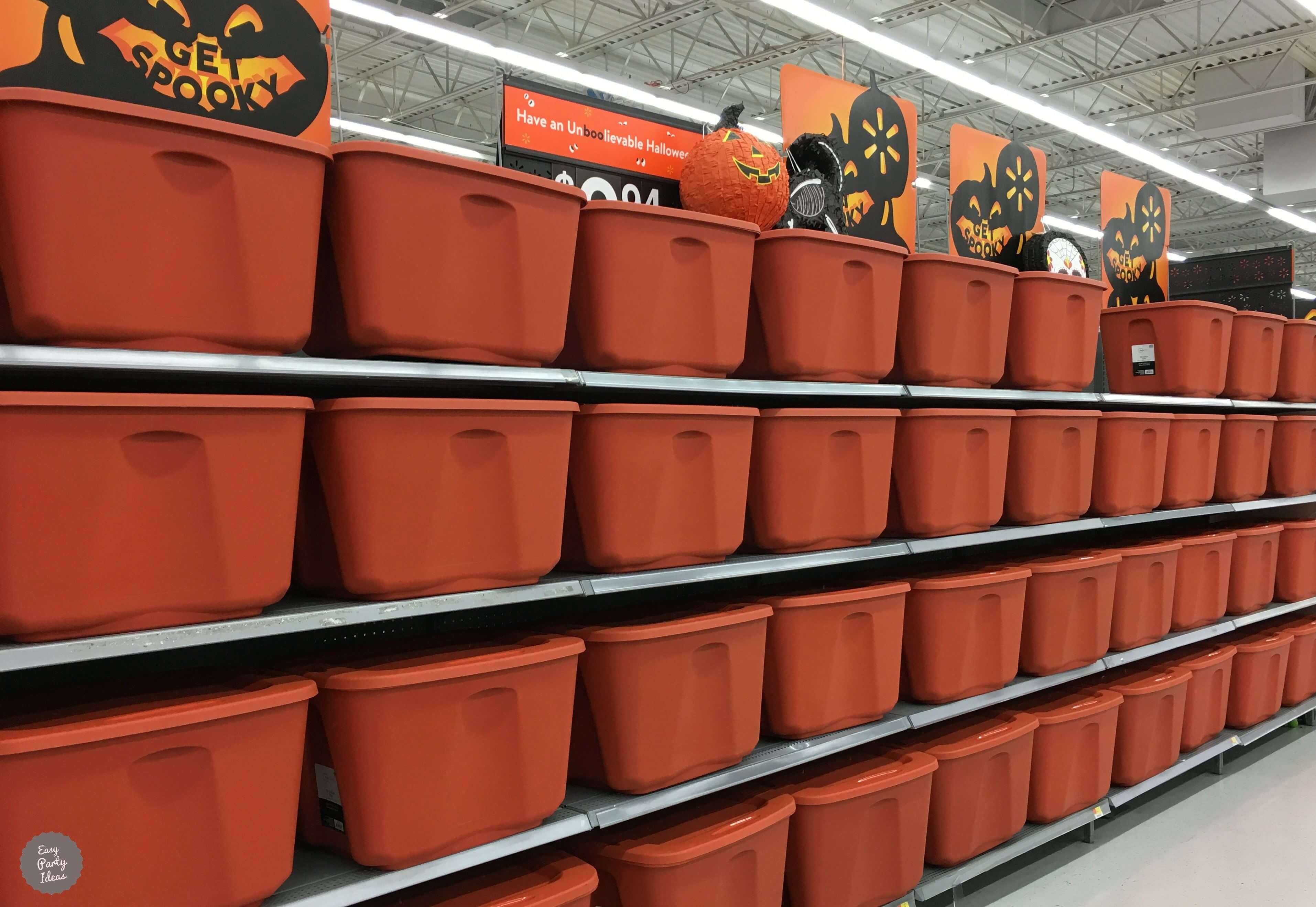 Halloween Storage Ideas