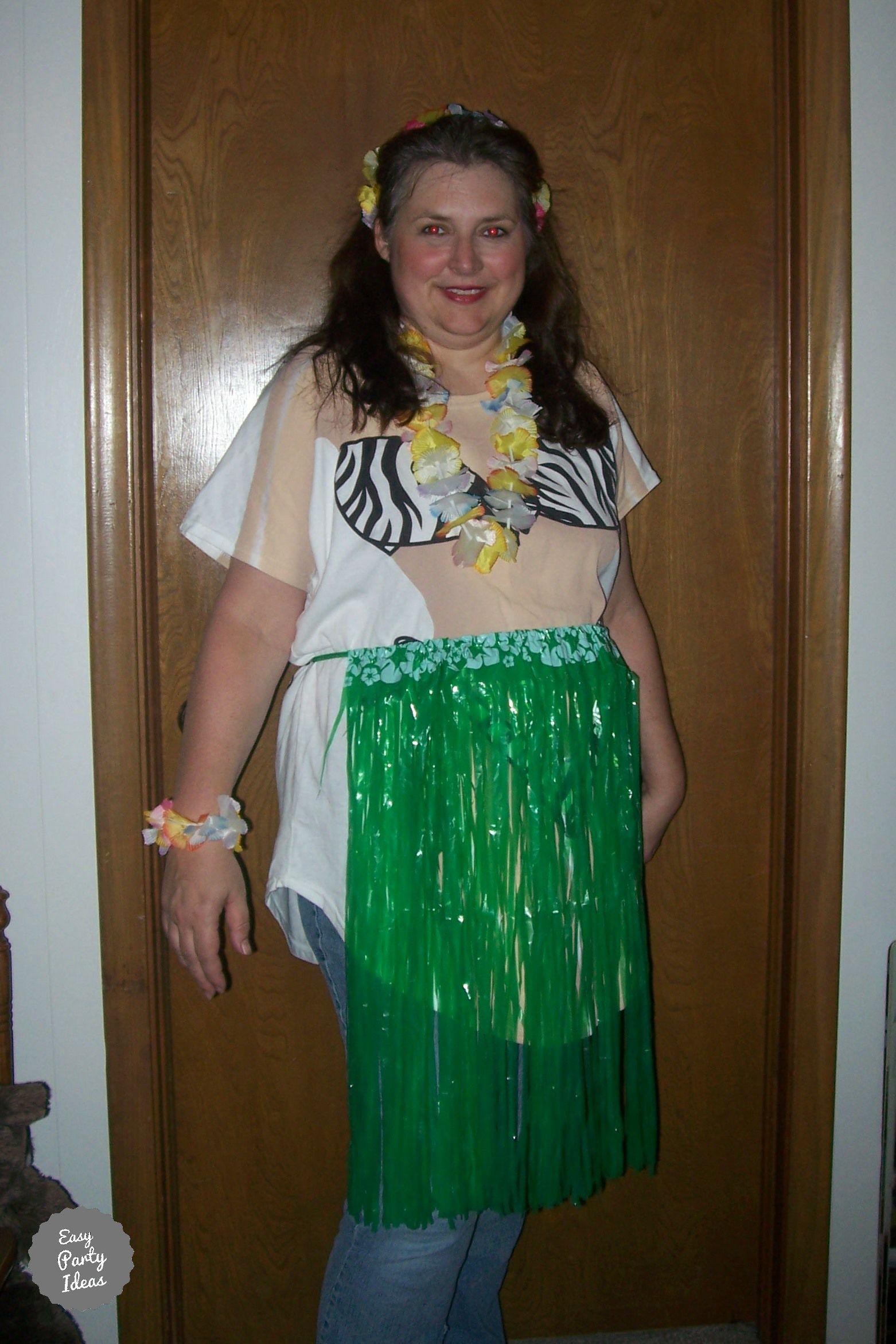 Funny Luau Costume