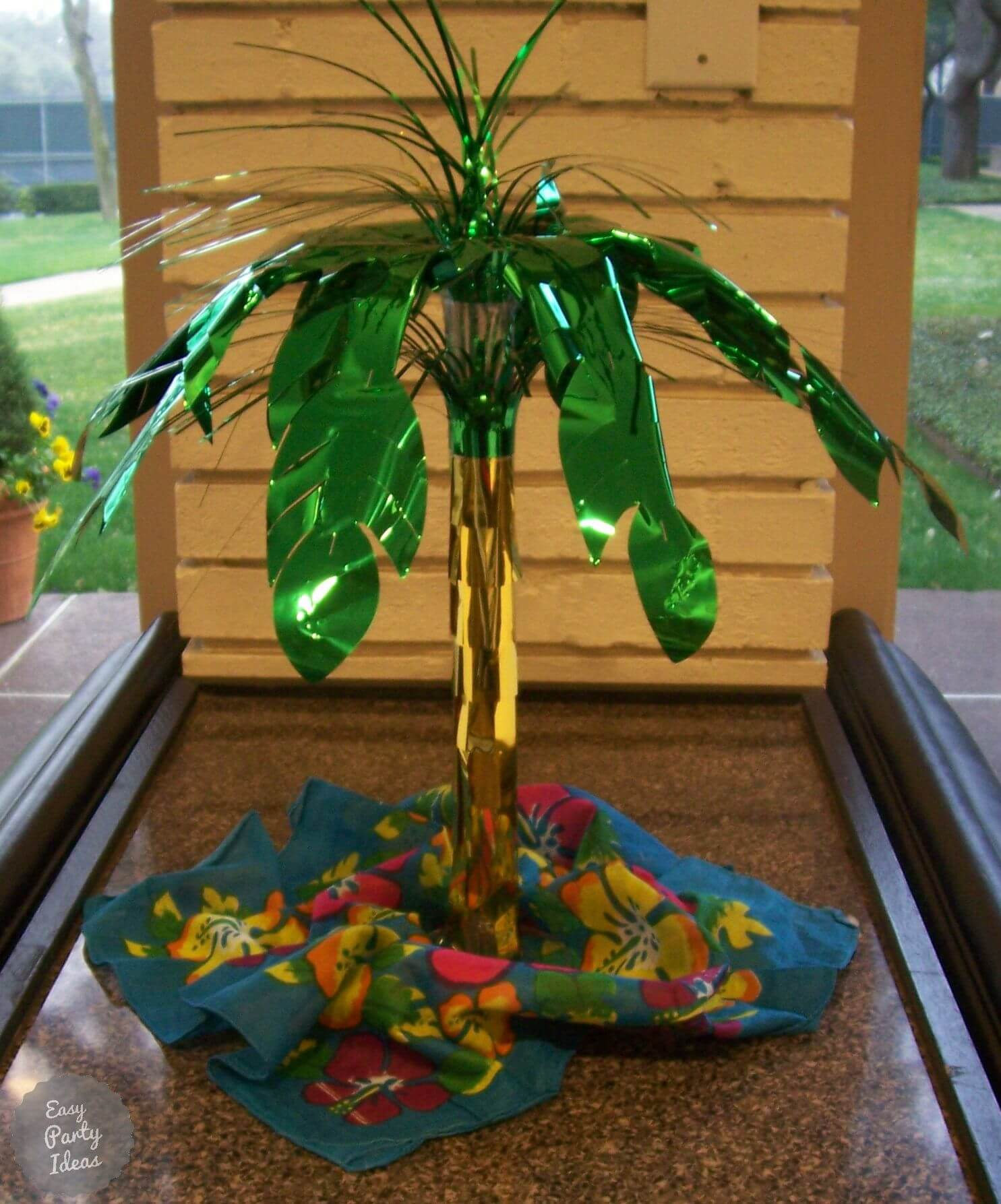 Tropical Party Centerpiece Decorations