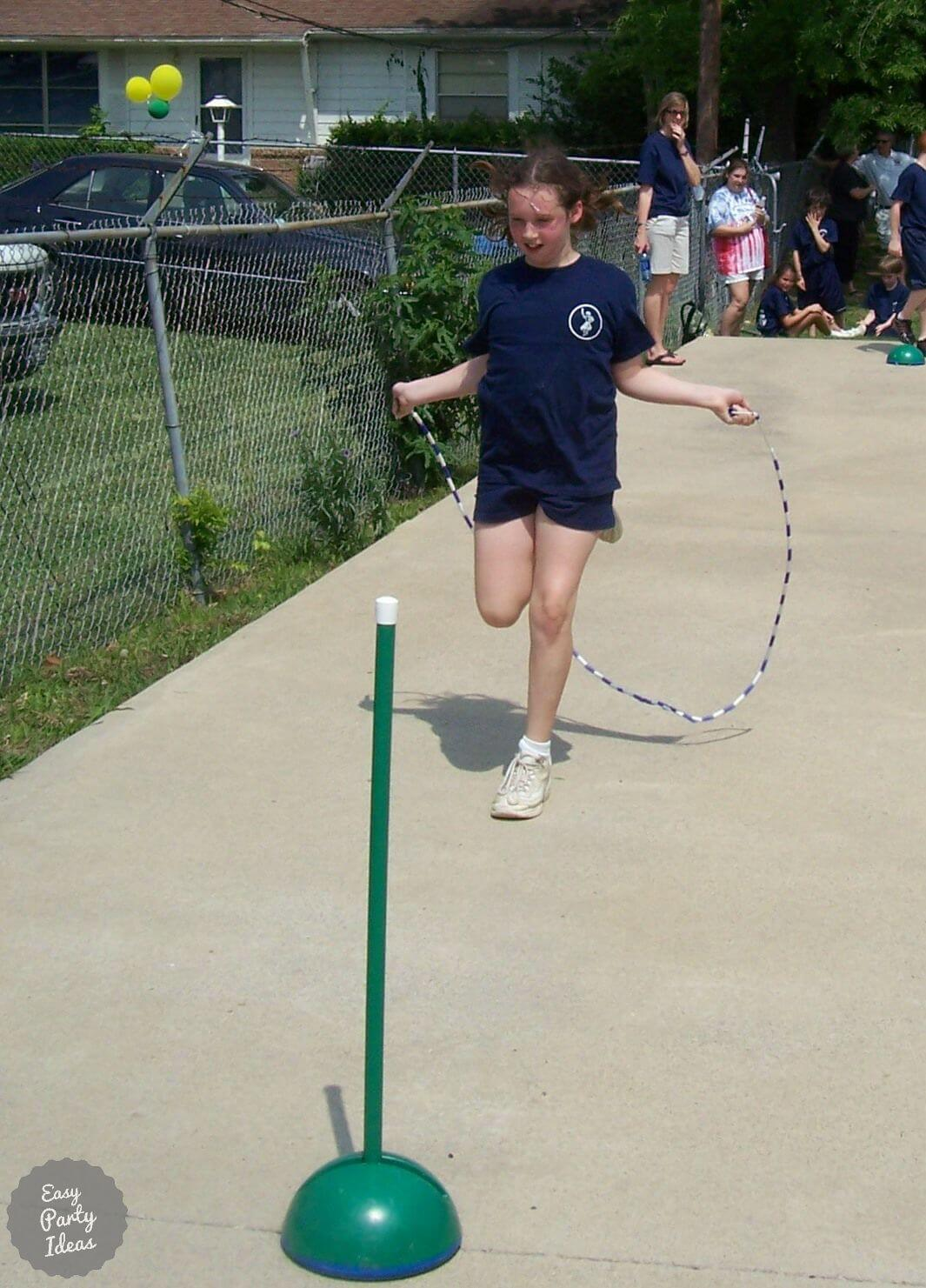 Jump Rope Relay Race