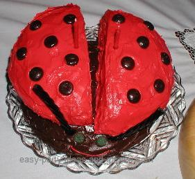 Ladybug Cake Decorating Supplies