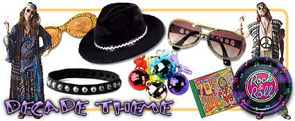 Decade Party Supplies