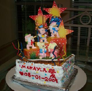 Farm Birthday Cake Ideas