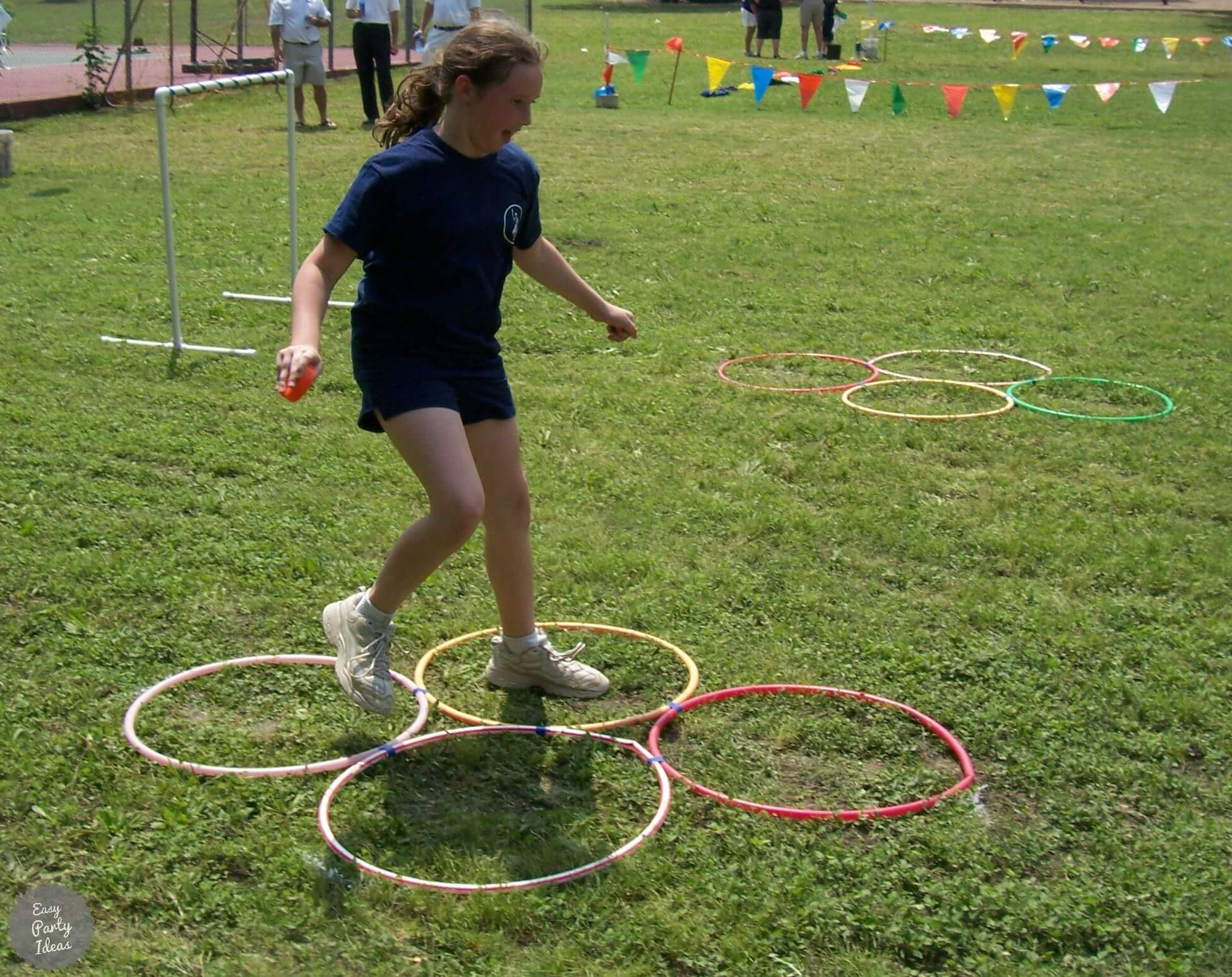 Obstacle Course Relay Race