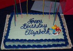 skating party cake