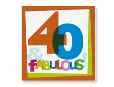 Surprise 40th birthday party ideas