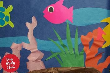 Imaginative Party Sealife Decorations