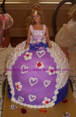 Doll Skirt Cake Tin