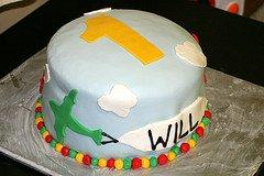 Fondant Airplane Cake Topper