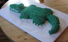 Easy Crocodile Cake