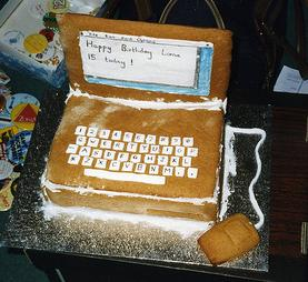 Phenomenal Computer Cake Funny Birthday Cards Online Barepcheapnameinfo
