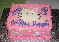 Wilton Hello Kitty Cake Pan Servings