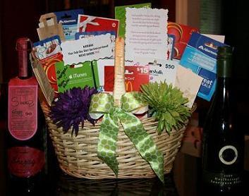 Gift Card Gift Basket