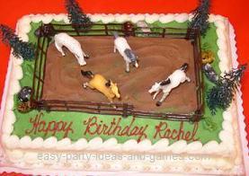 Cake Decorating Ideas Horses : Horse Cake