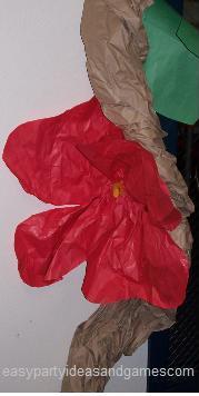 Luau Flower Decorations