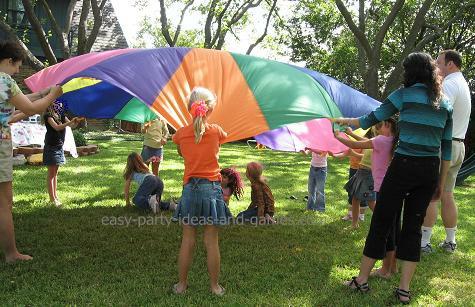 kids parachute game